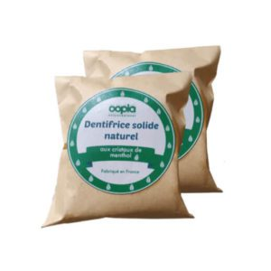 dentifrice solide